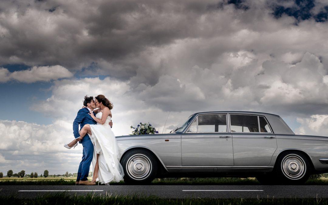 Bruiloft in Drimmelen: In het huwelijksbootje